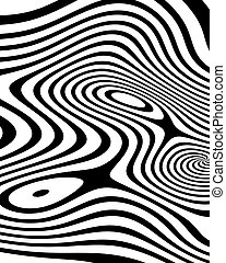 abstract zebra texture