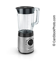 Electric blender Kitchen appliance, equipment isolated on...