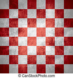 chequered pattern texture or red and white chessboard...