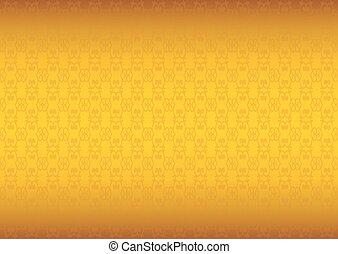 Luxurious Golden Textured Vector Background - Vector...