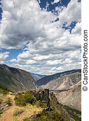 Katu-Yaryk Mountain pass - Breathtaking view from Katu-Yaryk...