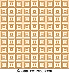 golden square on a  yellow background endless east pattern