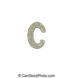 el, C, carta, cemento, textura,