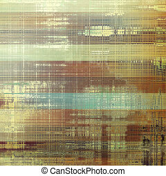 Vintage background in scrap-booking style, faded grunge texture with different color patterns: yellow (beige); brown; blue; gray
