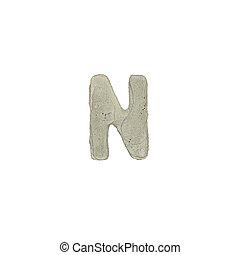 el, N, carta, cemento, textura,