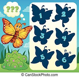 Butterfly riddle theme image 4