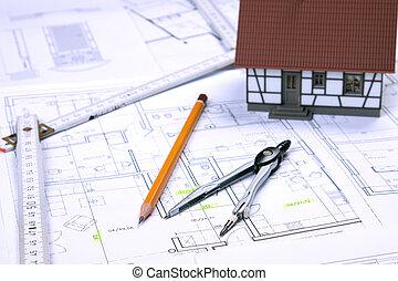 Blueprints - Architecture tools on blueprints