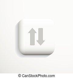 Communication 3d icon. Vector.