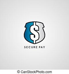 secure payment protection - secure payment logotype...