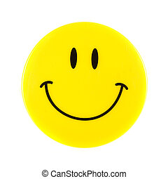 Smiley Face isolated on a white background