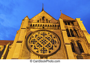 Lausanne Cathedral. Lausanne, Vaud, Switzerland.