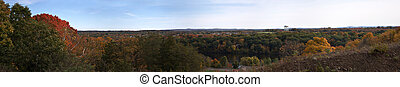 Massachusetts Fall Panorama