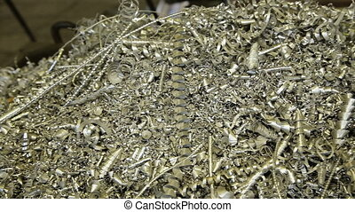 Scrap Metal Shavings - Metallic Shavings and Lathe Metal...