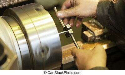 metal milling machine - tapping threads in stainless steel...