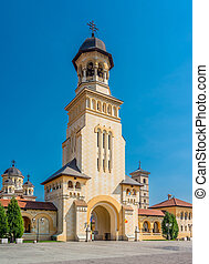 Belltower of Archiepiscopal Cathedral, Alba Iulia - The...