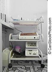 beauty salon room - Medical trolley in beauty salon room