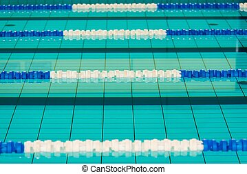 Swimming Pool Lanes Photo