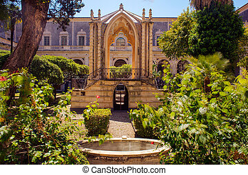 The Benedictine Monastery, Catania - Chiostro di Levante of...