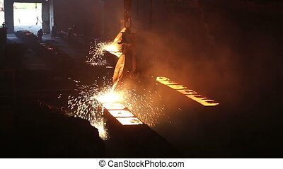 The production of iron