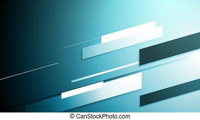 Blue hi-tech motion style background - Blue hi-tech motion...