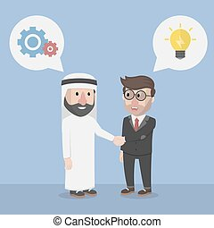 businessman cooperation planning co