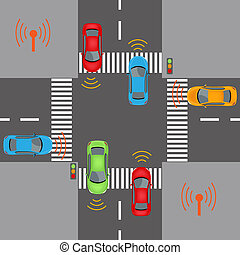 Wireless vehicle communications - Communication that...