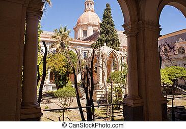 The Benedictine Monastery, Catania - Chiostro di Levante of...