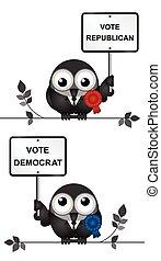 Democrat and Republican Politicians - Comical Democrat and...