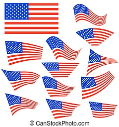 American Flags Icons