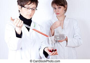hembra, científicos