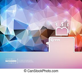 Creative vector toaster. Art illustration template background. For presentation, layout, brochure, logo, page, print, banner, poster, cover, booklet, business infographic, wallpaper, sign, flyer.