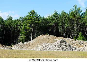 Pile of Dirt and Rubble