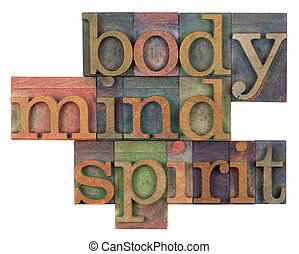 body, mind and spirit concept - body, mind and spirit in...