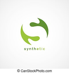 S letter logotype theme vector art illustration