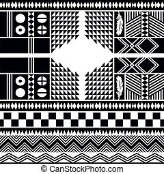 native pattern tribe culture