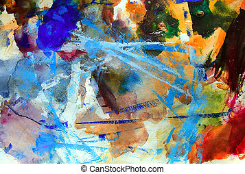 Art abstract palette background