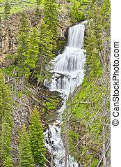 Undine Falls, Yellowstone National Park, Wyoming