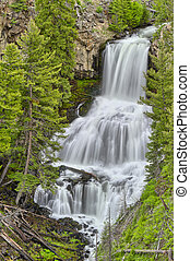 Undine Falls, Yellowstone National Park, Wyoming