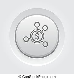 Money Distribution Icon - Money Distribution Icon Business...