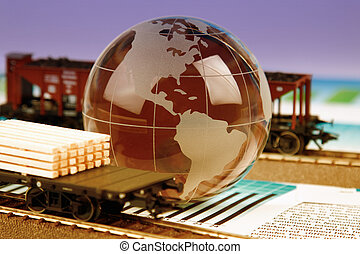 World transport - Railroad transport