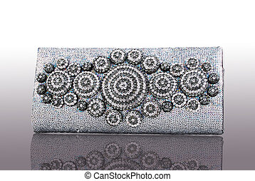 clutch purse - This is a beautiful ladies fancy clutch purse