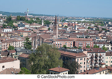 Beautiful view from the tower lamberti of Verona - Beautiful...