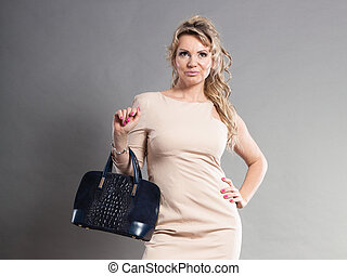 Portrait of mid aged fashionable woman - Fashion of women...