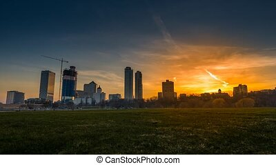 Milwaukee WI Timelapse - Milwaukee Skyline timelapse day to...