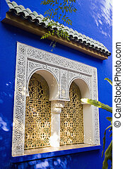 Marrakesh, Morocco - The Majorelle Gardens, Marrakech\'s...