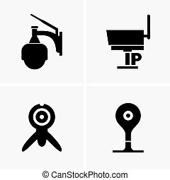Ip cameras, shade pictures