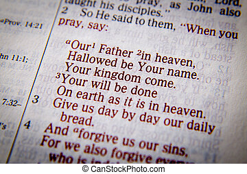 The Lord's Prayer - Our Father in heaven - Our Father in...