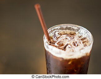 Ice coffee americano