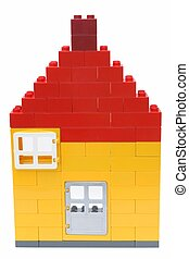 House - A house made of blocks