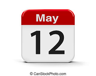 12th May - Calendar web button - The Twelfth of May -...